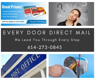every door direct mail print postcards EDDM Every Door Direct Mail