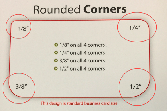 Rounded business cards with rounded Corners low cost business cards Cloud 8 Printing