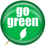 Go Green flyer printing recycle