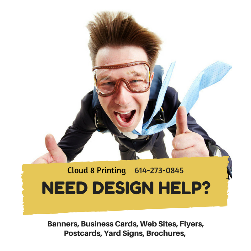 good print design Graphic Design Cloud 8 Printing Columbus, OH