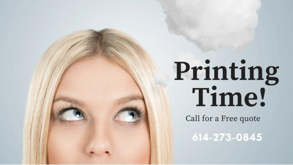 print design postcards, business cards, brochure design